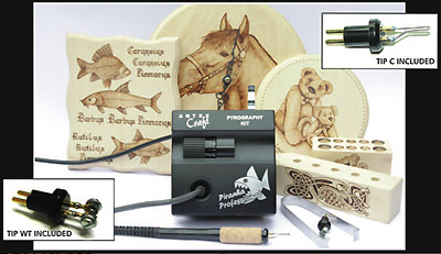 Pyrography Tools of Today